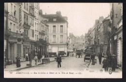ABBEVILLE . Rue Saint - Gilles Et L'Hötel De La Tête De Boeuf . - Abbeville