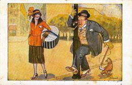 [DC5619] CARTOLINA - UMORISTICA CARICATURALE - FIRMATA DALL'ILLUSTRATORE G. DIDONE - CP - V - Old Postcard - Humor