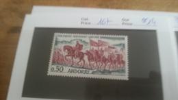 LOT 228196 TIMBRE DE ANDORRE NEUF** N�167 VALEUR 14 EUROS