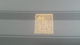 LOT 228227 TIMBRE DE COLONIE GENERALE NEUF* N�56 VALEUR 45 EUROS