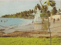 AFRIQUE,AFRIKA,LIBREVILLE ,GABON,prés  Congo,guinée,cameroun,anc Ienne  Colonie Française,indépendant  Depuis 1960,plage - Gabon