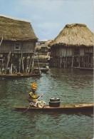 AFRIQUE,AFRICA,SUD DU BENIN,Ganvié,lac Nokoué,village LACUSTRE,venise De L´afrique,béninoise Débrouillarde - Benin