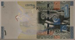 KUWAIT 1 DINAR 2014 FdS/UNC #B1037 - Kuwait