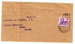 Briefstück Société Des Nations SDN 6.VI.1939 Genève Nach Bern - Officials