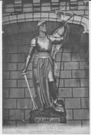 MARANS.CPA.STATUE JEANNE D'ARC.ERIGEE JUIN 1911.xxxxx - France