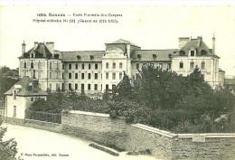 Rennes. Ecole Normale Des Garcons, Hopital Militaire N° 101. - Rennes
