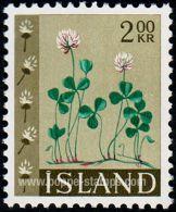 Iceland, Sc , SG 415 Mint, Not Hinged - 1964 2k.  - Flowers - Iceland