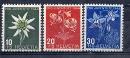 Serie Nº 400/2  Suiza Solo Flora. - Végétaux