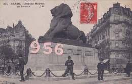 CPA * * PARIS * * Lion De Belfort - District 14
