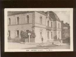 35 Retiers La Mairie édit. Gerard N° 9066 Affiches Publicité , Panneau Drouges 8km - Other Municipalities