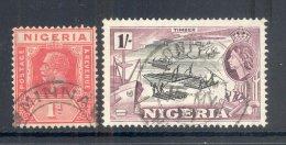 NIGERIA, Postmarks MINNA, ONITSHA - Nigeria (...-1960)
