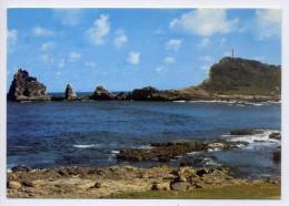 Guadeloupe--1991--La Pointe Des Chateaux,cpsm 15 X 10 N°101 éd Images Caraibes--timbre Bahamas-cachet Nassau - Guadeloupe