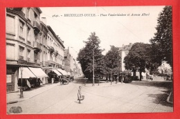 CP UCCLE UKKEL Bruxelles Place Vanderkindere et avenue Albert  carte n'ayant pas circul�