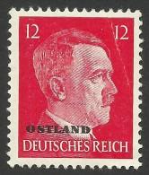 Russia, German Occupation, 12 Pf. 1943, Sc # N16, Mi # 20, MH - 1941-43 Occupation: Germany