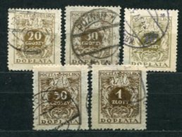 Polen Porto Nr.71/7        O  Used       (759) - Postage Due