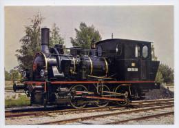 Ligne VOLGELSHEIM--MARCKOLSHEIM-1989-Chemin De Fer Touristique Du Rhin-Locomotive030 TB 130--cachet FERRETTE-blason - Frankreich