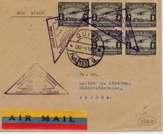 AIRMAIL FIRST FLIGHT.- 1932- PRIMER CORREO AÉREO LATACUNGA-QUITO - Equateur