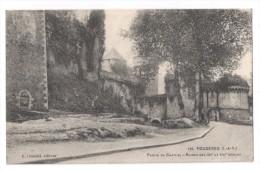 CP, 35, FOUGERES, Partie Du Château - Ruines Des XIIe Et XVIe Siècles, Voyagé En 1917 - Fougeres