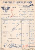 06 411 MONACO ALPES 1940 CHOCOLATERIE ET BISCUITERIE DE MONACO Plage de Fontvieille   BISCUITS DELTA BISCUIT