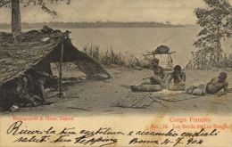 149-1904 Congo Francais French Congo Les Bords Du Lac Bengo - Congo Francese - Altri
