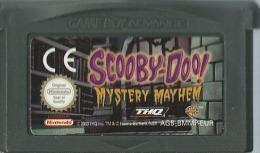 "- JEU GAME BOY ADVANCE SCOOBY DOO MYSTERY MAYHEM ""LE LIVRE DES TENEBRES"" (FONCTIONNE SUR SP) - Nintendo Game Boy"