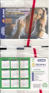 COLOMBIA(chip) - Blonde Girl, Calendar 1999, Telepsa Telecard, Tirage 10000, Mint - Colombia