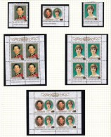 Aitutaki 1981 Royal Wedding Set Of Singles And Sheetlets MNH - Aitutaki