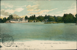 CANADA BROCKVILLE / Passing The Willows / - Brockville