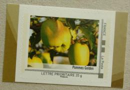 LFV4 Limousin : Pommes Golden (autocollant / Autoadhésif) - Francia