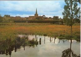 Moisdon-la-Rivière.. Belle Vue De L'Etang De La Forge.. L'Eglise - Moisdon La Riviere
