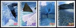 (16) Australian Antarctics / AAT  1996 / Ladnscapes / Paysages / Landschaften   ** / Mnh  Michel 106-09 - Territoire Antarctique Australien (AAT)