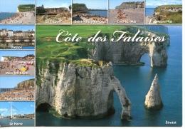 Côte Des Falaises : Fecamp Treport Valery Criel Mesnil Val Dieppe Mers Bains Veules Roses Havre - Multivues633 Artaud - France