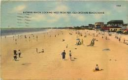 Pays Divers -etats Unis- Usa -ref C374- Old Archard Beach - Maine - - Etats-Unis