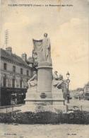 Villers-Cotterets - Le Monument Aux Morts - Monuments Aux Morts