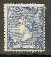 1866 ISABEL II EDIFIL 81 NUEVO - 1850-68 Kingdom: Isabella II