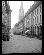 V1403 - SUISSE - BERNE - La Cathédrale - Plaque Photo Originale à Ne Pas Manquer - Plaques De Verre