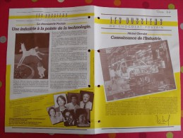 Chocolat Poulain. Dossier Connaissance N° 37 : Industrie. Complet. Années 1970 - Poulain