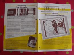 Chocolat Poulain. Dossier Connaissance N° 41 : Timbres. Complet. Années 1970 - Poulain