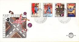 E162 - Kinderzegels, Veiligheid (1977) - NVPH 1146 - 1149 - FDC