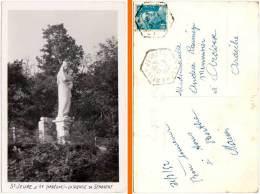 St Jeure D'Ay - La Vierge De Sénovert (cachet Hexagonal) - France