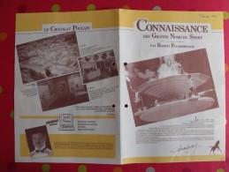 Chocolat Poulain. Dossier Connaissance N° 44 : Grands Noms Du Sport, Tabarly, Agostini, Prost Pelé. Complet. Années 1970 - Poulain