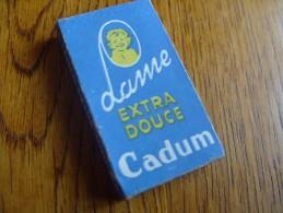Boite 5 Lames Rasoir Cadum - Razor Blades