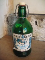 Ancienne Bouteille De Vin Der Gute WALD GEIST Heidelbeer Wein - Vin