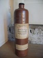 Ancienne Bouteille De Spiritueux En Terre BOLS Corenwyn Genever - Spiritueux