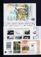 ESPAÑA AÑO 1999COMPLETO Con Minipliego Completo Caballos - España