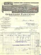 Rheinböllerhütte  Gebr. Puricelli  Rheinböllerhütte Und Stromberger - Neuhütte  Eisengiesserei  Abbildung Landschft 1921 - 1900 – 1949