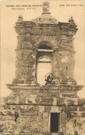 Pays Divers -etats Unis- Usa -ref C328- Tower San Jose De Aguayo - San Antonio -texas  - Postcard In Good Condition  - - San Antonio