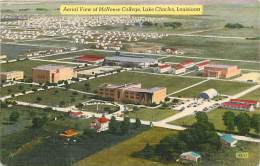 Pays Divers -etats Unis- Usa -ref C322- Mc Neese College -lake Charles -louisiana  - Postcard In Good Condition  - - Etats-Unis