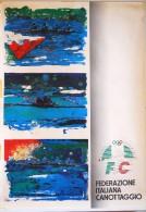POS 48 - POSTER cm. 100X70 - FEDERAZIONE ITALIANA CANOTTAGGIO