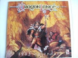 Dragonlance Lancedragon Calendrier Calendar 1993 - Calendriers